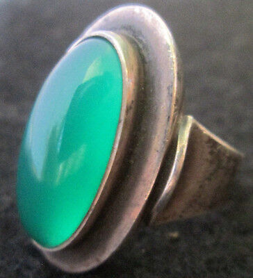 """HALLMARKED BY ARTIST """"N.E FROM"""" Denmark Sterling Silver 925 Ring"""