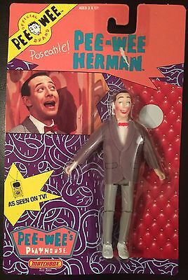 1988 Pee-Wee Herman Poseable Action Figure from Matchbox MOC Pee-Wee's Playhouse