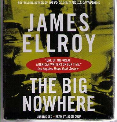 BRAND-NEW !! The Big Nowhere by James Ellroy (2015) CD COMPLETE & UNABRIDGED !!