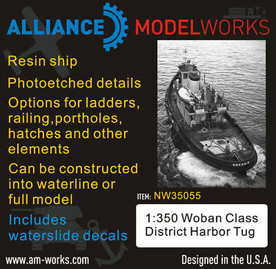 Alliance NW35055 1/350 Woban Class District Harbor Tug Boat