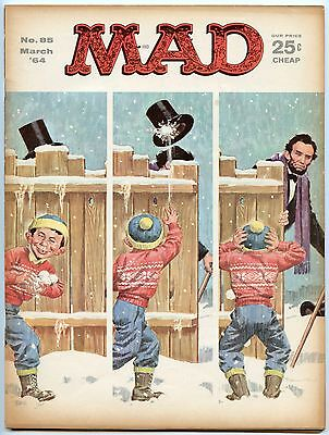 Mad Magazine 85 Mar 1964 VG (4.0)