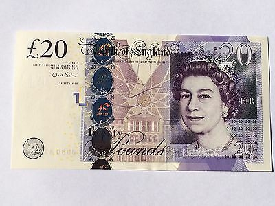 Great Britain, 2012 20 Pounds P392b  ((Gem Unc))
