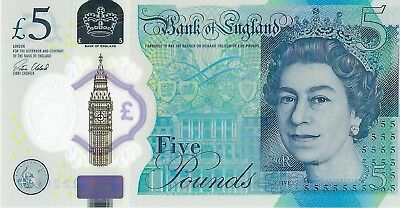 Great Britain, 2016 5 Pounds PUnlisted  ((Gem Unc))