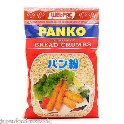 Welpac Panko Japanese Bread Crumbs for homebaking 200g