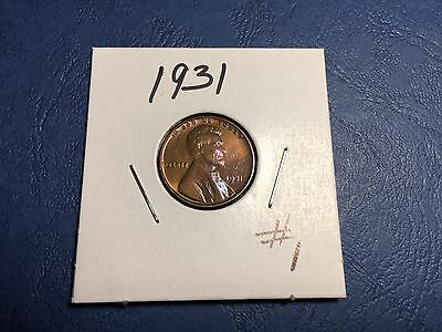1931 P Lincoln Wheat Penny .