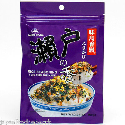 Japanese Rice Flakes Seto Furikake Seasoning Compound  in Pack 60g