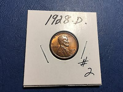 1928 D Lincoln Wheat Penny
