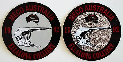 Ellalong Colliery Meco Mining Sticker Pair