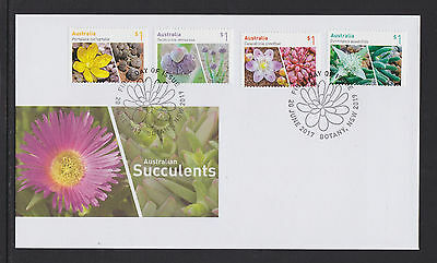 Australia 2017 : Australian Suculents - First Day Cover Mint Condition