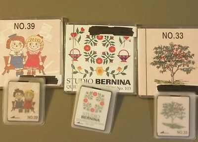 Brother embroidery machine cards