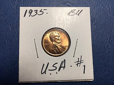 1935 Lincoln Wheat Penny .