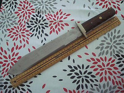Antique Sheffield-BOWIE-KNIFE-with-Leather-Sheath  1900s Alamo bowie
