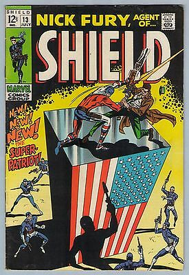 Nick Fury Agent of SHIELD 13 Jul 1969 VG+ (4.5)