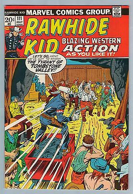 Rawhide Kid 111 May 1973 VF (8.0)