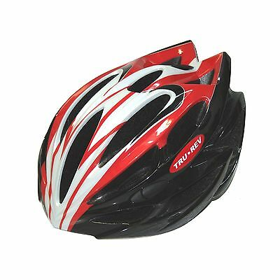 TruRev Cyclist Helmet: Very Light bicycle helmet  S/M