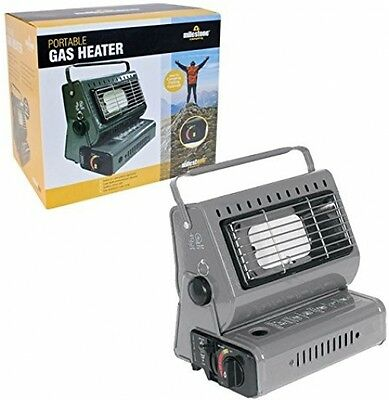 Milestone Portable Outdoor Gas Heater Camping Festivals Picnics Carry Handle