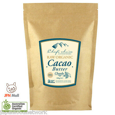 Superfoods Raw Organic Cacao Butter (Chunks) 300g