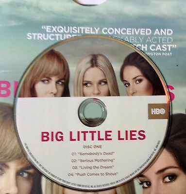 BIG LITTLE LIES Reese Witherspoon 7Episode HBO 2 DVD 2017 FYC EMMY AWARD VIEWER