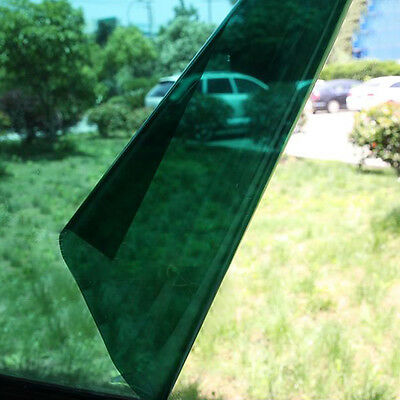 Green Mirror One Way Window Film Solar Reflective Privacy Sticker Tint Stop Heat