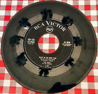 Elvis Presley 45 giri Where do you come from-Return to sender