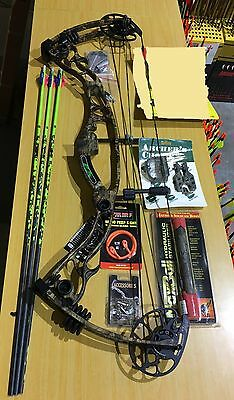 Martin Vulture Ghost 2.0 Compound Bow Kit RH 70# SECOND HAND (#MV146)
