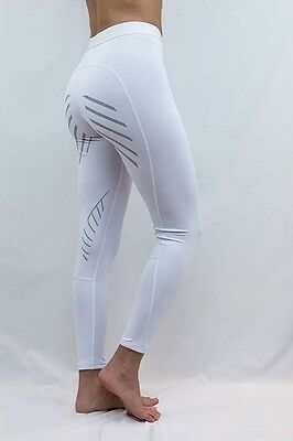 Performa Ride | White Riding Tights