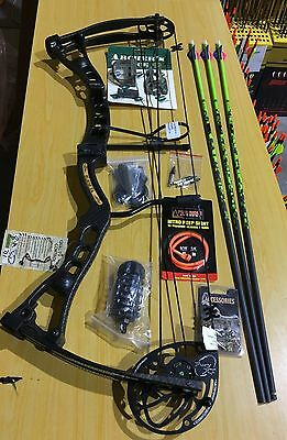 Martin Blade Fury XT Compound Bow Kit RH 70# Black SECOND HAND (#MBF206)