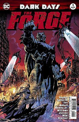 Dark Days The Forge #1 Foil Stamped Rebirth Dc Comics 6/14/17 Near Mint