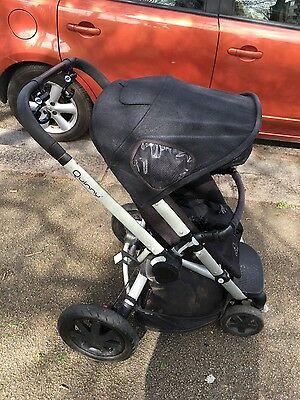 Quinny Buzz Black Standard Single Seat Stroller