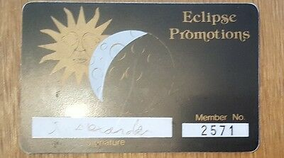 Eclipse Rave Membership Card/flyer