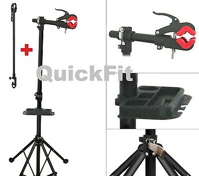 Quick Fit Cycle Pro Mechanic Bicycle Repair Stand rack Bike