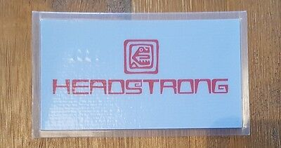 Headstong Rave Membership/flyer Card