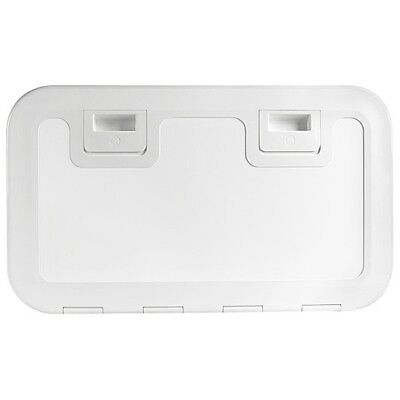 Osculati Plastic Inspektions - shut up 600x350mm white or cream, Luke Boat Lid