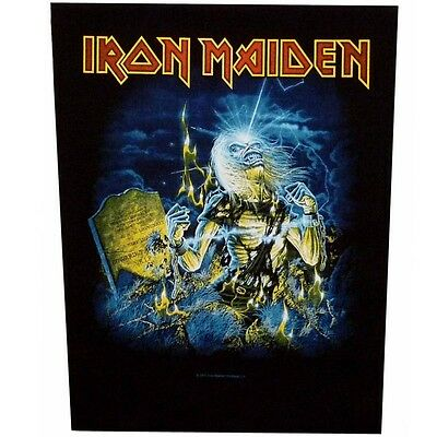 Iron Maiden live after death Back Patch XLG free worldwide shipping