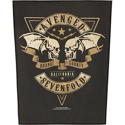 Avenged Sevenfold  orange county  Back Patch XLG free worldwide shipping