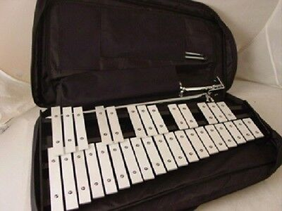 32 Key 2.5 Octave Xylophone w Stand Case and Mallets Pro Percussion GLOCKENSPIEL