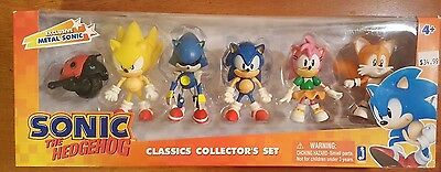 Sonic Classic Collector's Set Jazwares 3 inch figures NEW SEALED in box