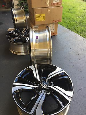 Brand New 2017 Honda Civic RS Alloy Wheels. Set Of 4. Wheels Only. 17 Inch.