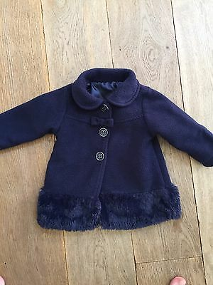 Nutmeg Baby Girls Coat 9-12 Months