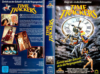 TIME TRACKERS VHS Video Cassette 80s Time Travel Medieval England Sci/Fi Fantasy