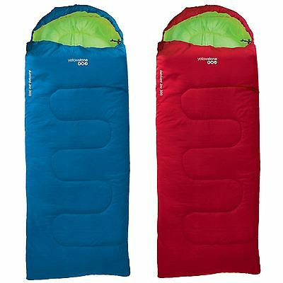 Yellowstone 300 Childrens/kids 1 Season Sleeping Bag Camping Boys & Girls