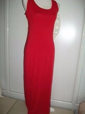 Ladies red maxi dress Size 12/14