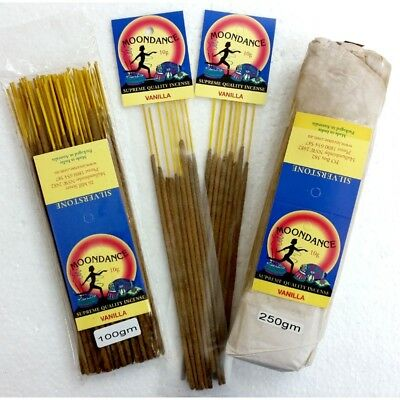 MOONDANCE Quality Incense VANILLA 100g BULK INCENSE FAST SHIPPING SMUDGE - SAVE