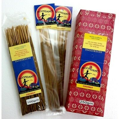 MOONDANCE Quality Incense COCONUT 250g BULK INCENSE FAST SHIPPING SMUDGE - SAVE