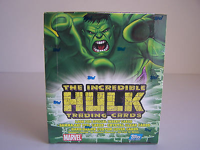 The Incredible HULK Trading Cards - Sealed Trading Card Box - 2003