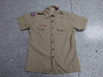 S455 Used United States US BSA Boy Scouts Uniform shirts Mens Adult LG 48 ""