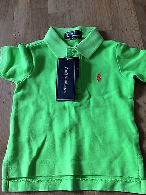 Baby Boy Ralph Lauren Polo Shirt 9 Months.
