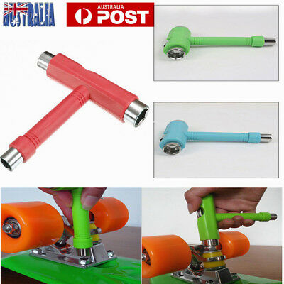 Skateboard Scooter Longboard T-shape Multifunctional Wrench Adjusting Tool MX