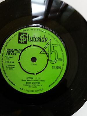 Northern Soul Rare UK Ruby Winters Demo
