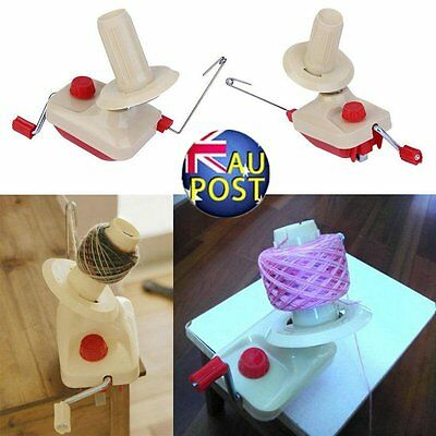 Portable Hand-Operated Yarn Winder Wool String Thread Skein Machine Tool U#